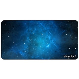 VanFn Mouse Pads, Extended Size Gaming Mouse Pad, Customized Rectangle Mousepad, Special Treated Textured Weave, Non-Sli