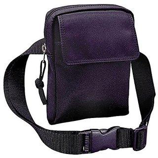 Winn Microfiber Fanny Pack w/a Removable Waist Strap, Black