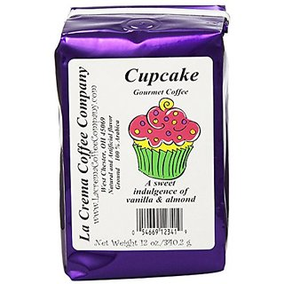 La Crema Coffee Cupcake, 12-Ounce Packages (Pack of 2)