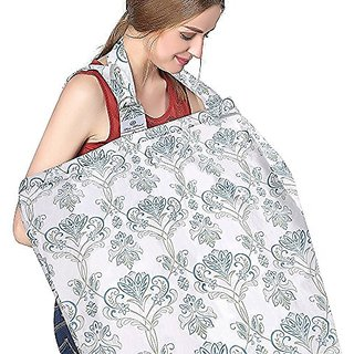 FicBox Breast Feeding Nursing Cover Made By Cotton (Isla)