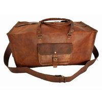 Rustictown In Vogue Brown Travel Square Duffel Bag