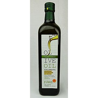 Faris Kalamata E. Virgin Olive Oil Series (750 Ml / 25.4 Fl Oz)