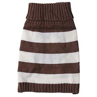 JJ Store Pet Puppy Cute Stripe Knitwear Coat Jumper Sweater Apparel Clothes For Small Medium Dog