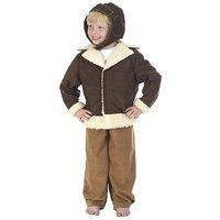 Pilot / Bomber Costume For Kids 8-10 Years
