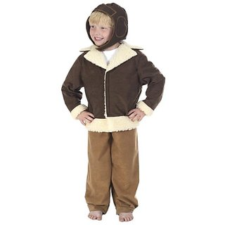 Pilot / Bomber Costume For Kids 10-12 Years