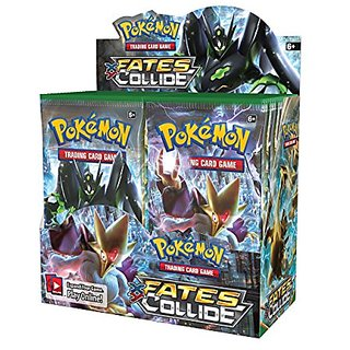 Pokemon XY Fates Collide Booster Box Sealed English