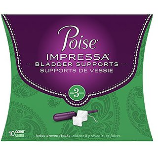 Poise Impressa Incontinence Bladder Supports Size 3