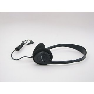 Express Jet Adjustable On-the Ear Padded Headphones