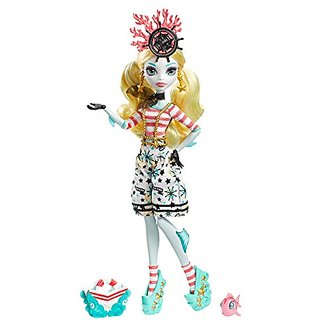 Monster High Shriekwrecked Nautical Ghouls Lagoona Blue Doll