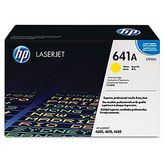 C9722A (HP 641A) Toner Cartridge, 8000 Page-Yield, Yellow