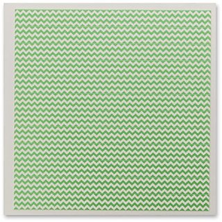 DecoPac Fondant DecoShapes Strips, Pastel Green Chevron, 5.7 Ounce