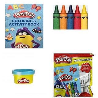 Play-Doh Art & Activity 3 Pack Set