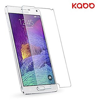 Samsung Galaxy Note 4 Screen Protector, KABB 0.3mm HD Tempered Glass Screen Protector for Galaxy Note 4 with 9H Hardness