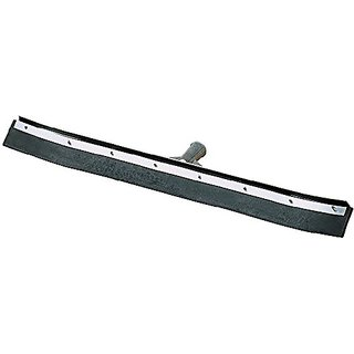 Carlisle 36324C00 Curved End Rubber Squeegee with Metal Frame, 24