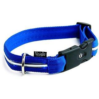 Visiglo Blue Nylon with Blue Led, Large