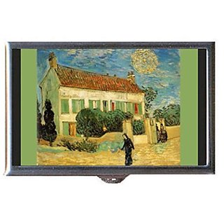 Vincent Van Gogh White House Night Decorative Pill Box