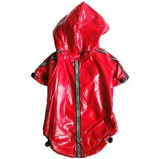 Royal Animals Dog Raincoat, Small, Red