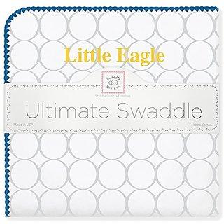 SwaddleDesigns Ultimate Swaddle Blanket, Emory University, Little Eagle