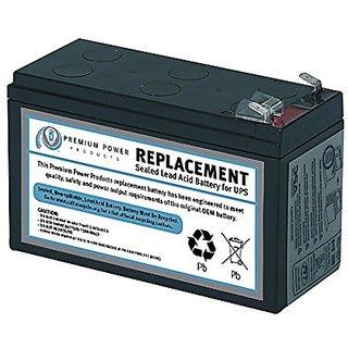 Ereplacement SLA35-ER Sealed UPS Battery, Black