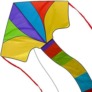Summer 2016 New Delta Kite - Best Easy Flyer 40 Inch Kites For Kids And Adults - Assemble & Fly In Seconds Model With Ha