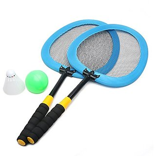 Wishtime Badminton Racket Set for Kids Outdoor Beach Sports Above 3 Years Old