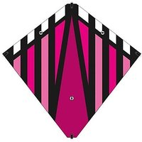 30 Inch X-Kites Magenta Stunt Diamond Kite W/Double Handles & Line