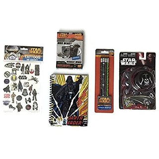 Star Wars Activity Bundle Splat Ball Journal Tattoos Pencils Top Trumps Playing Cards