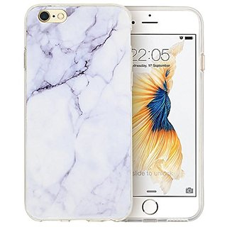 Iphone 6s Plus Case, Iphone 6 Plus Case ( 5.5 inch ), A-Focus Marble Design Stone Soft Gel Rubber TPU Cover Case for Iph