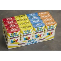 Color Garden Pure Natural Food Colors Yellow 5 (6 Gram) Single-use Packets (a)