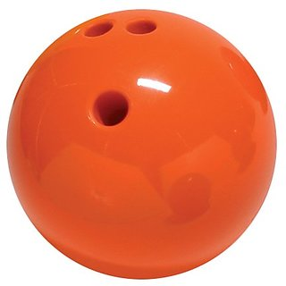 Cramer X6 3-Pound Rubberized Bowling Ball, Orange Pl