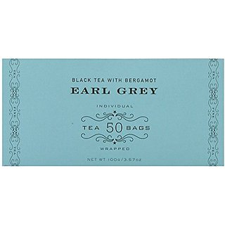 Harney & Sons Black Tea, Earl Grey, 50 Tea Bags
