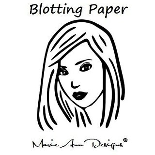 Marie Ann Designs Makeup Blotting Paper, 100 Sheets per Pack