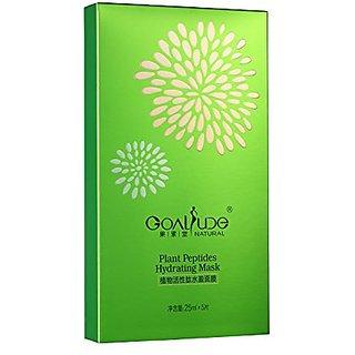 Goalsude plant peptides hydrating mask 5pcs set