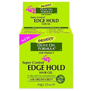 Palmers Olive Oil Formula Super Control Edge Hold Hair Gel, 2.25 Ounce (Pack of 2)