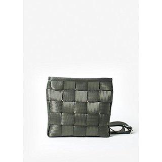 Harveys Seatbelt Bags Mini Messenger, Army Green