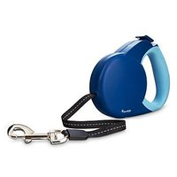 Good2Go Retractable Blue Dog Leash Small 13 Length For Dogs Up To 18 Lbs.