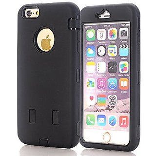 iPhone 6 Plus Case,JDBRUIAN 3in1 Shield Series Heavy Duty Hybrid Hard PC Soft Silicone Combo Hybrid Defender High Impact