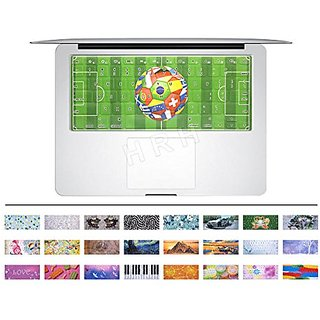 HRH Green Football field Keyboard Cover Rubber Skin for MacBook Air 13