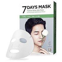 Forencos 7 Days Mask Pack Descendants Of The Sun Song Joong Ki (10pcs) (Thursday : Teatree Relax Silk Mask )