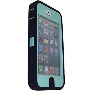 iphone 5s case, OKASE (TM) iPhone 5 / 5s Durable Protective Hybrid Heavy Duty Armor Cover Shockproof / Dustproof Case