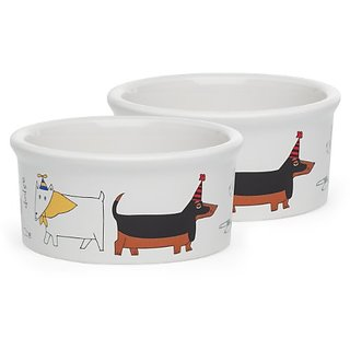 Signature Housewares Dog Party Bowl, Small