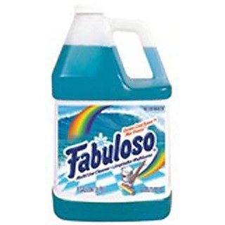 Fabuloso 04373 1 Gallon Ocean Paradise Multi-Use Cleaner with Pleasant Scent (Case of 4)