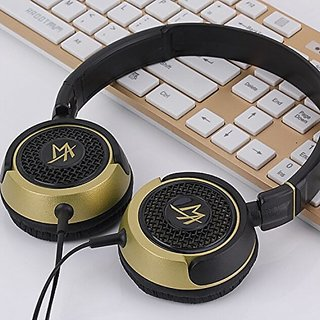 Lightweight Nets Rotatable 3.5mm Stereo Over-ear Headphones Portable Stretch Headsets Earphones Leather Earpad with Buil