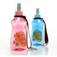 Lovely Baby Best Pet Choice, Translucent Portable Lightweight No-leak Water Bottle, Waterer Capacity 252ml With Two Fash