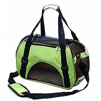 Kenox Soft Sided Dog Carrier Pet Travel Portable Bag Home For Dogs, Cats And Puppies (Medium, Green)
