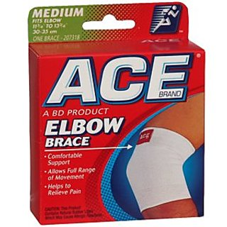 PACK OF 3 EACH ACE ELBOW SUPPORTER 7318 MD 1EA PT#8290207318