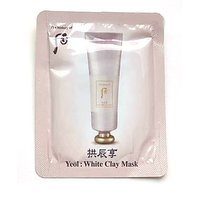 10 X The History Of Whoo Sample Gongjinhyang Yeol: White Clay Wash Off Mask 5ml