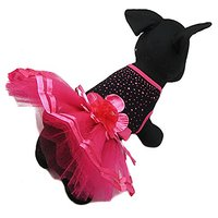 Alfie Pet By Petoga Couture - Molly Tutu Party Dress - Size: Large