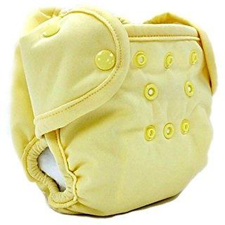 Kissas All-in-One Plus Diaper, Butter, Newborn
