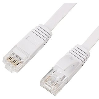 VCZHS CAT6 Ethernet Cable Flat Cat6 Network Cable Gigabit Ethernet Patch Cord RJ45 Network Twisted Pair Lan Cable (3.3Fe